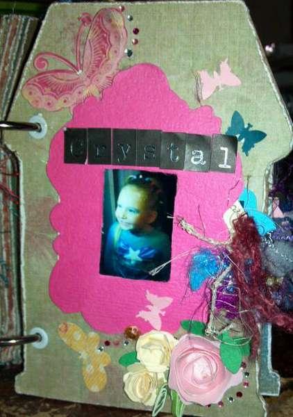 Dad's mini album - Crystal's page