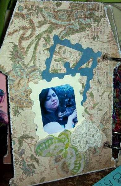 Dad's mini album - Monica's page