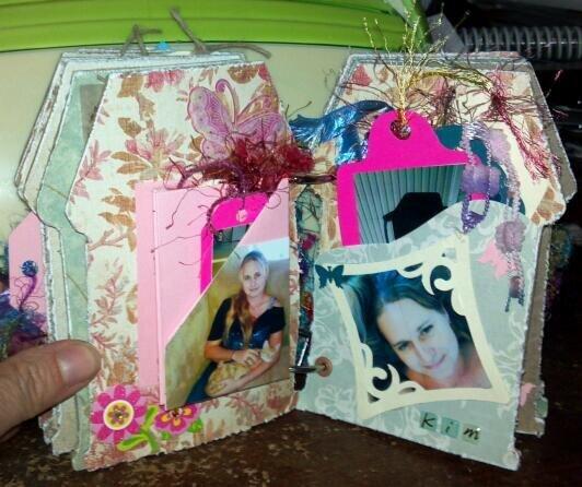 Dad's mini album - Kim's page