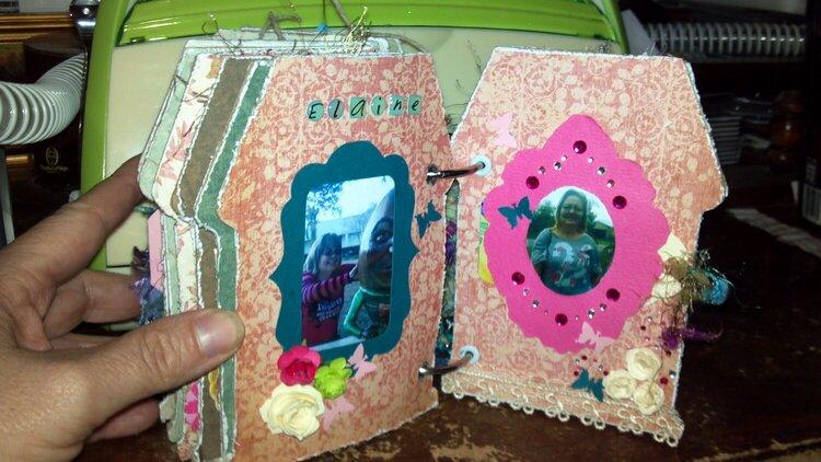Dad's mini album - Elaine's page