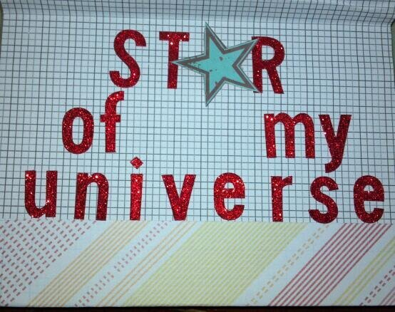You Are The Star Of My Universe - inside