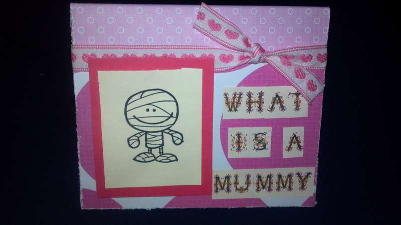 What is a mummy page 1- card