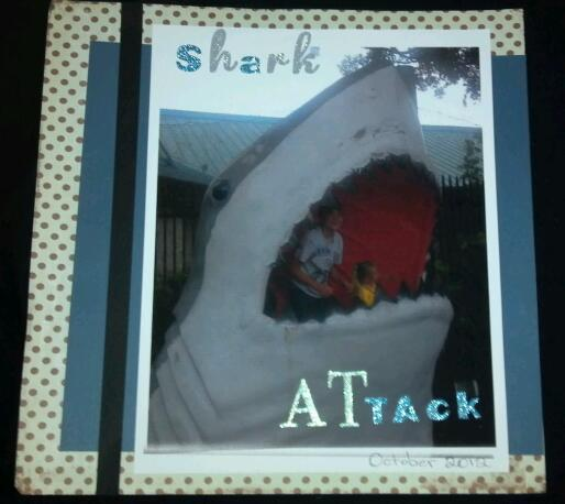 Shark Attack (left)