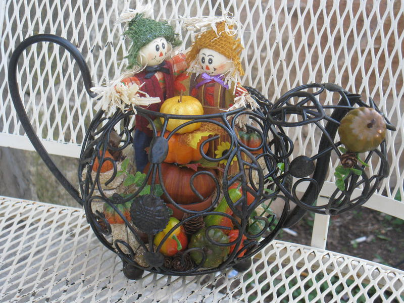 Teapot Pumpkin Patch #1