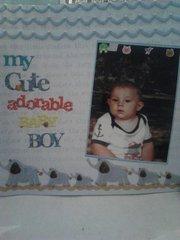 MY CUTE, ADORABLE, BABY BOY