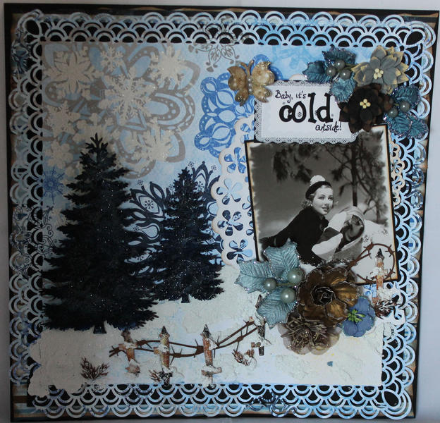 Baby it's Cold Outside - DT Project for Gina's Designs