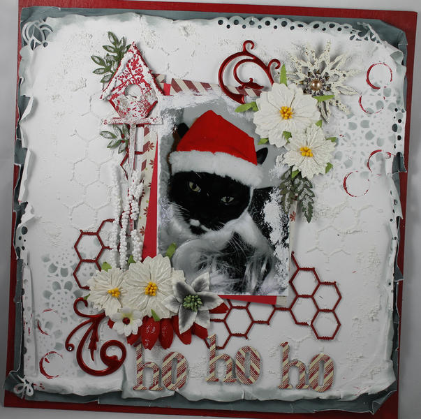 Ho Ho Ho - A DT Project for Gina's Designs