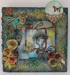 Altered Frame Steampunk for Gina's Designs