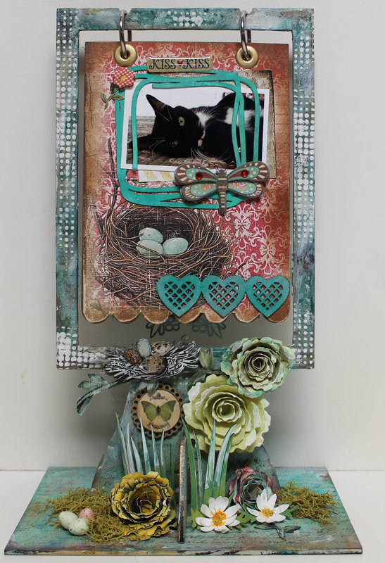 DT project for Ephemera's Vintage garden - Mini Album