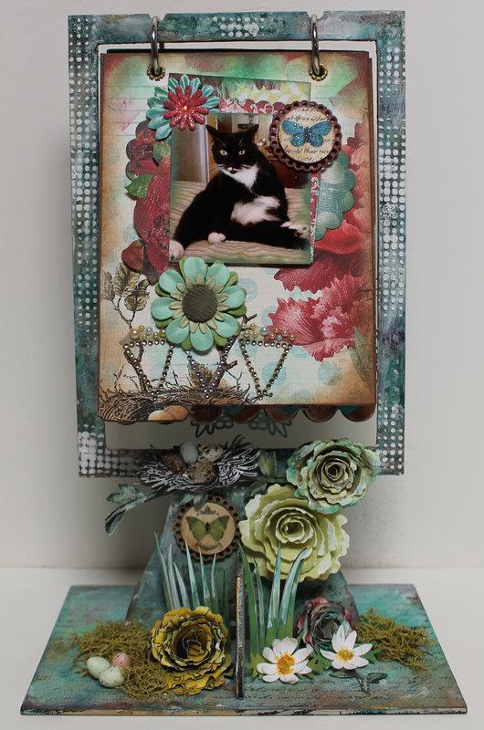 DT project for Ephemera's Vintage garden - Mini Album