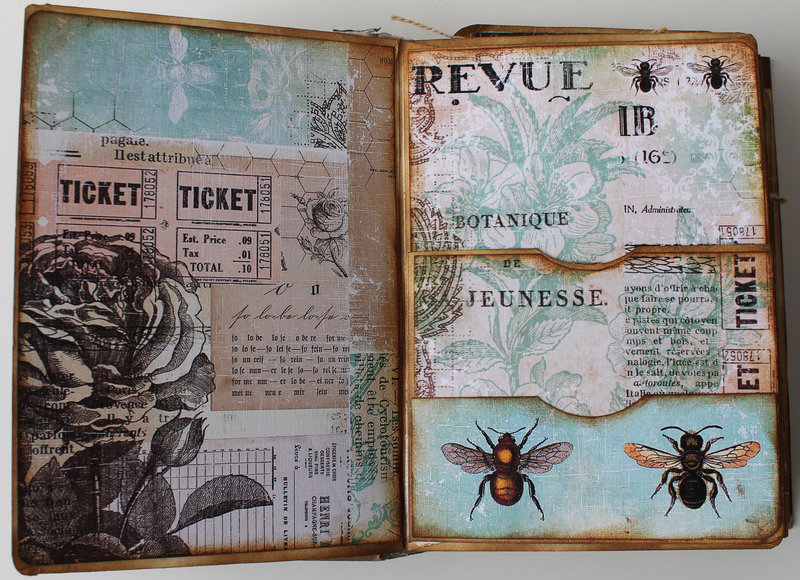 Bee Book for Ephemera's Vintage Garden