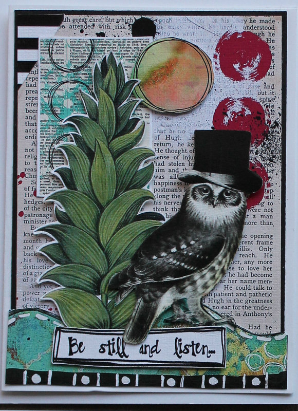 Whimsical Note Cards for Ephemera's Vintage Garden