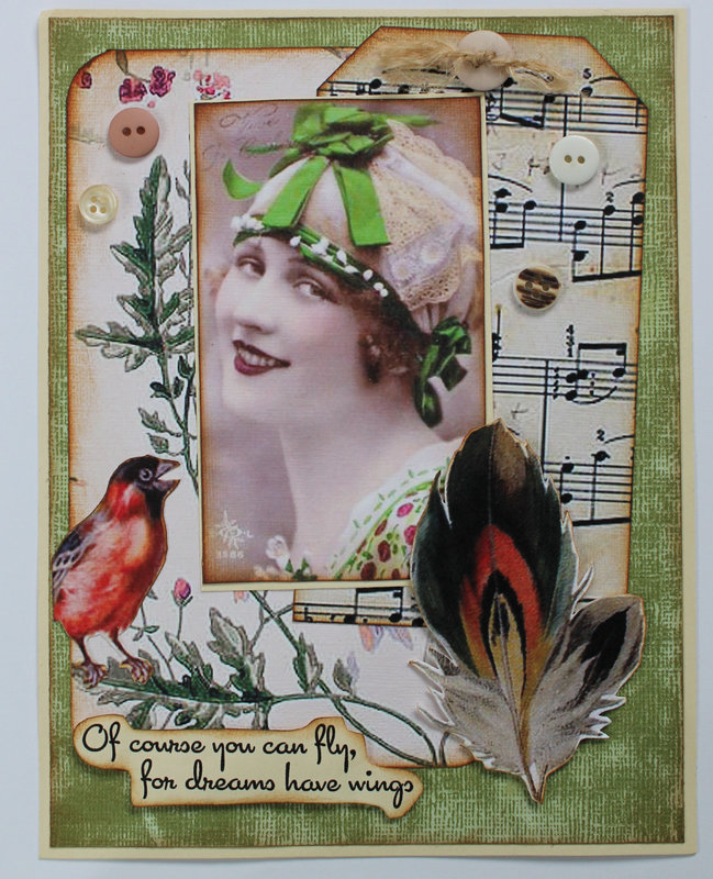 """""""Dreams Have Wings"""" card for Gecko Galz"""