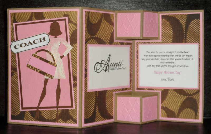 Pink Purse Inspired Greeting Card