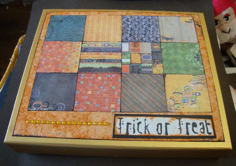 Cupcake Craft Challenges #158: Patchwork Quilt
