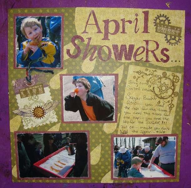 April Steampunk Challenge: April Showers