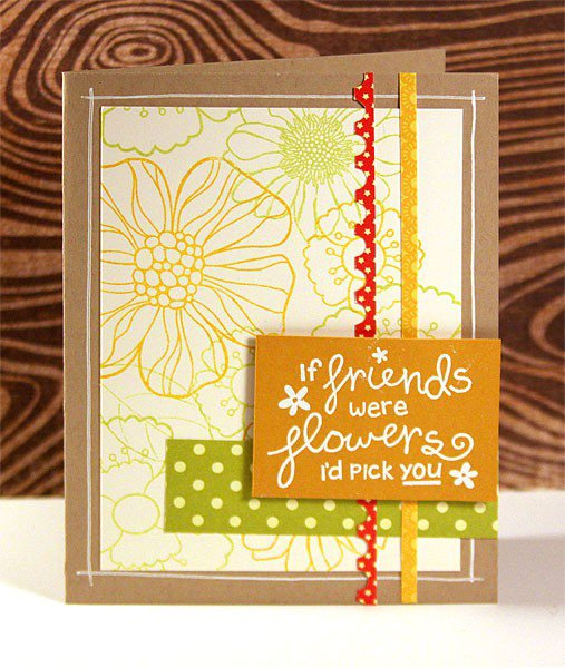30 Days of Stamping & Cardmaking - Finally Friday