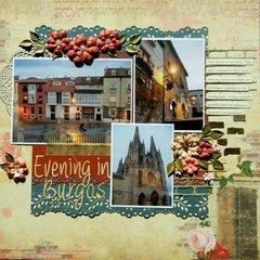 Evening in Burgos