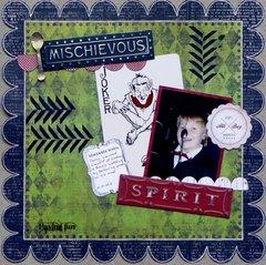 Mischievous spirit