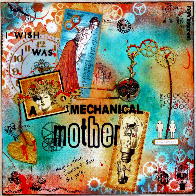 I wish I was a mechanical mother