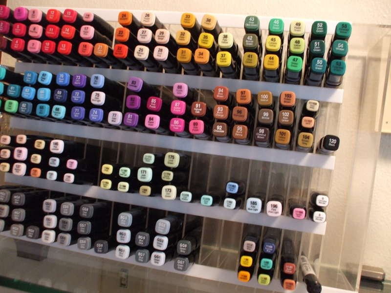 Marker Storage - Copic or Shinhan Marker