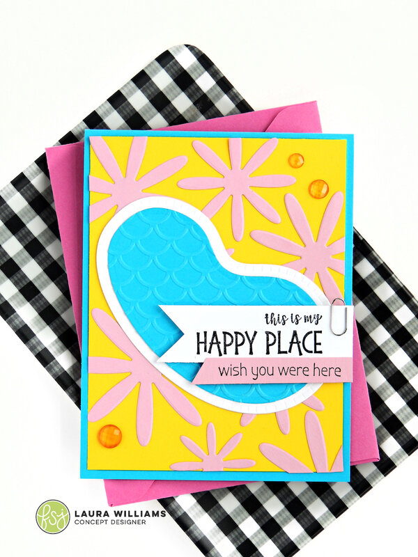 This is My Happy Place Summer Card