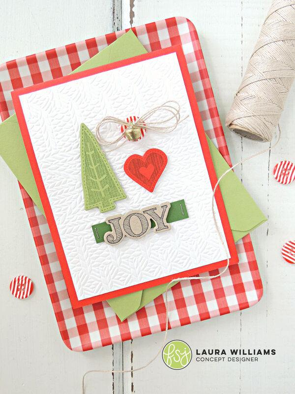 Simple Christmas Joy Card