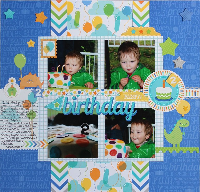 Happy 2nd Birthday Hip Hip Hooray