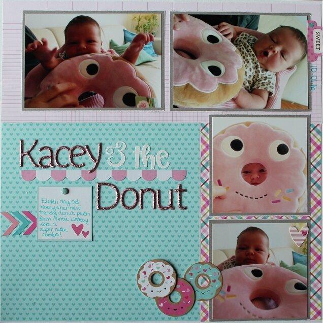 Newborn with Donut
