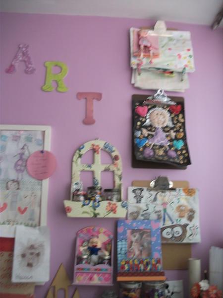 Wall of art.
