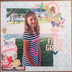 First Day Fifth Grade