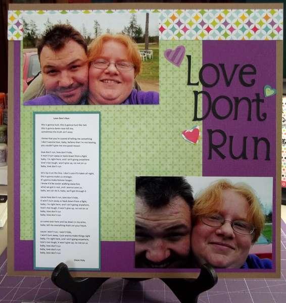 Love Dont Run