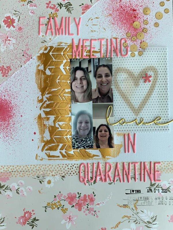 FAMILY MEETING IN QUARANTINE