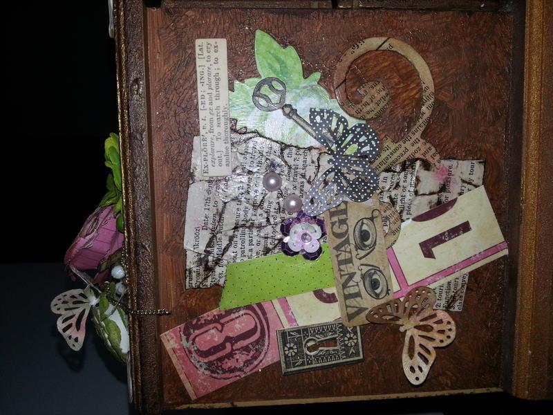 The treasure box - side view