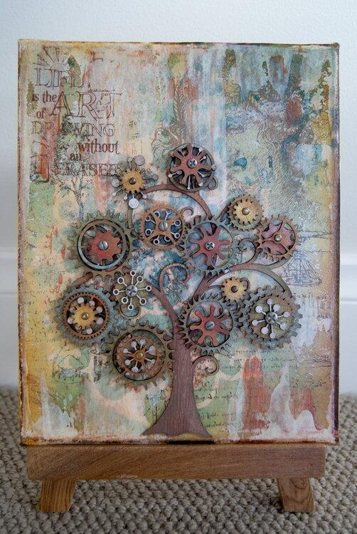 Cog Tree Canvas