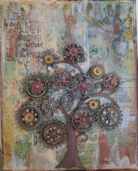 Cog Tree Canvas (view 2)