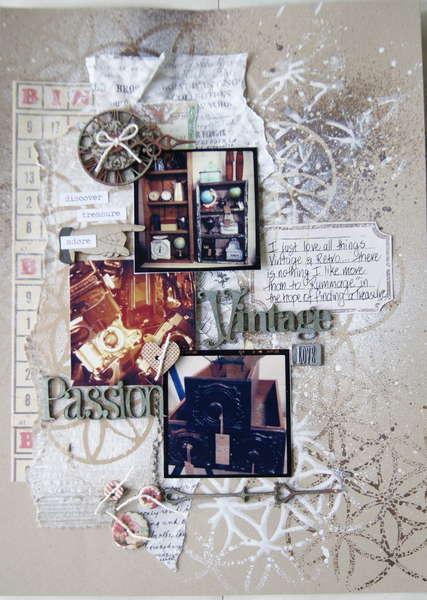 """""""Vintage Passion"""" For Scrap FX"""