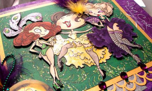 Mardi Gras Dancers-detail