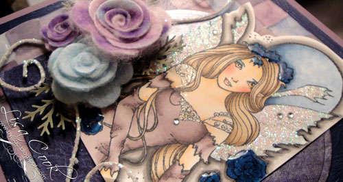Midnight Rose Fairy-detail