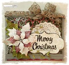 """Holiday Cheer"" Merry Christmas Card"