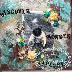 Discover, wonder, Explore Canvas