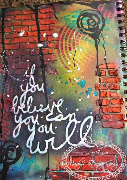 Graffiti Art Journal Page