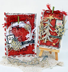 Holiday Card/Tag Set **Creative Embellishments