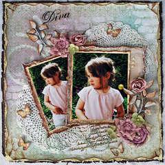 """Diva * Scrap That! October """"Bella Rosa"""" Kit featuring Prima Romantique*"""