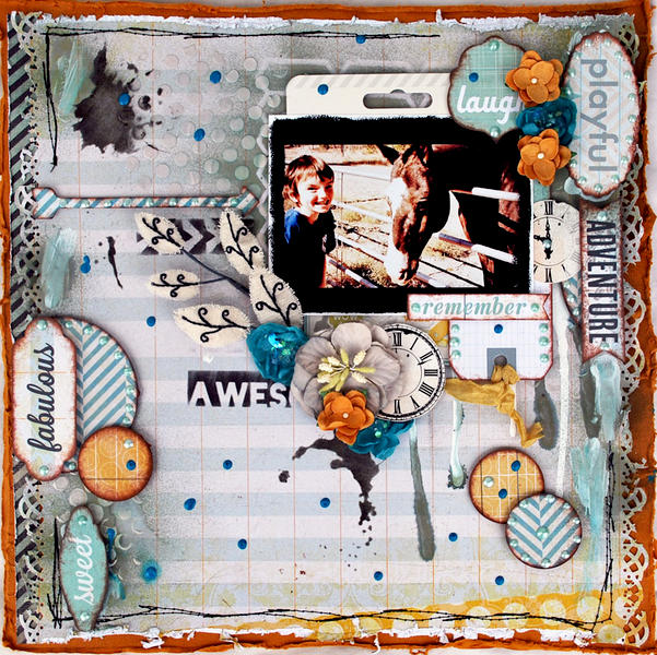 fabulous ** CT Flying Unicorn January KIT Carpe Diem**