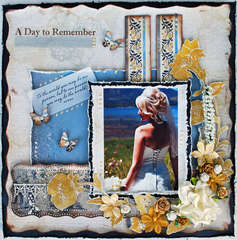 "A Day.. ** Scrap That! ""Putting on the Glitz"" Kit **"