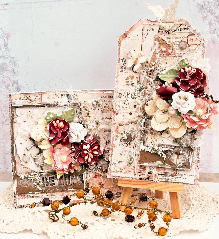 Valentine Card/Tag Set - Creative Embellishments