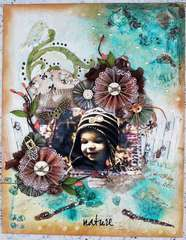 Nature Canvas *CT Flying Unicorn – Fabscraps*