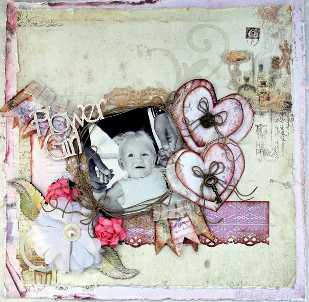 Flower Girl **Fabscraps**