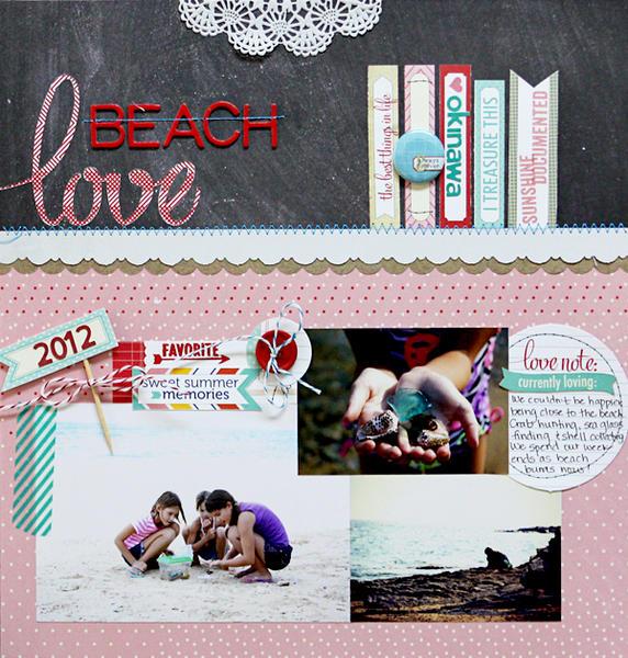 Beach Love  *Elle's Studio*